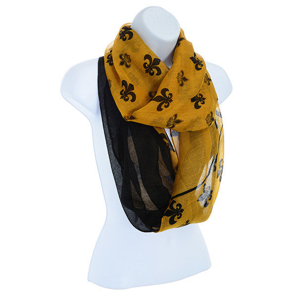 New Orleans Saints Infinity Scarf by Judson and Company