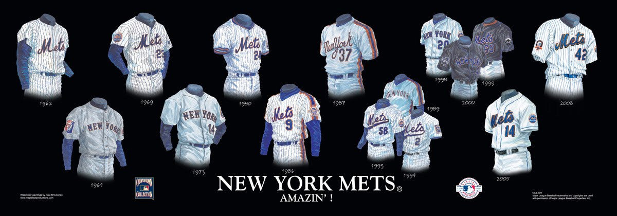 New York Mets: Amazin'! Poster by Nola McConnan