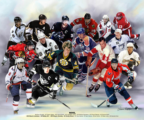 National Hockey League (NHL) by Wishum Gregory