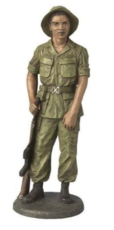 Vietnam Soldier by Norman Hughes