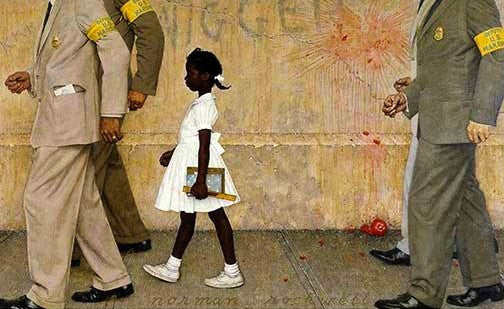 Ruby Bridges: The Problem We All Live With by Norman Rockwell