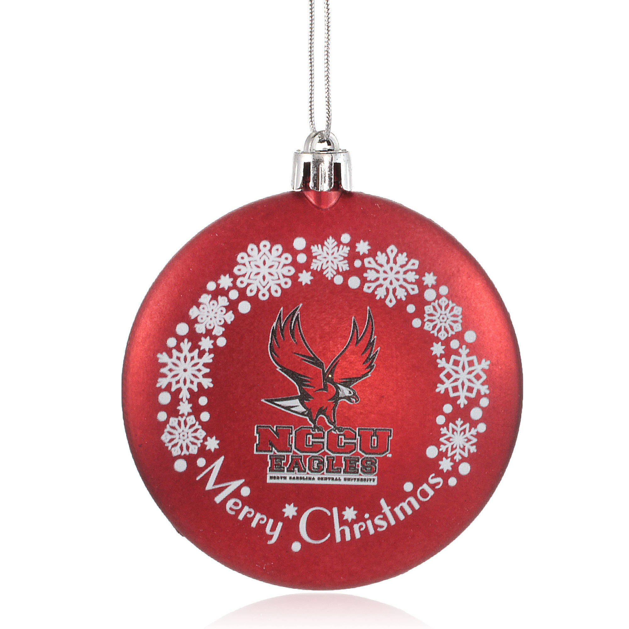 North Carolina Central University Eagles Christmas Ornament