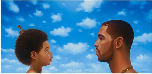 Nothing Was the Same: Drake by Kadir Nelson (Album Cover Art)