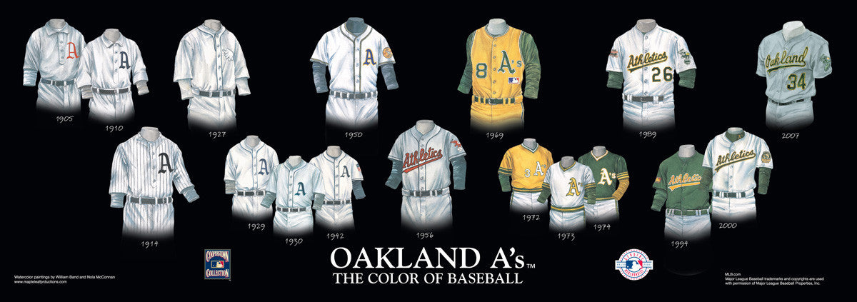 Oakland Athletics: The Color of Baseball by William Band and Nola McConnan