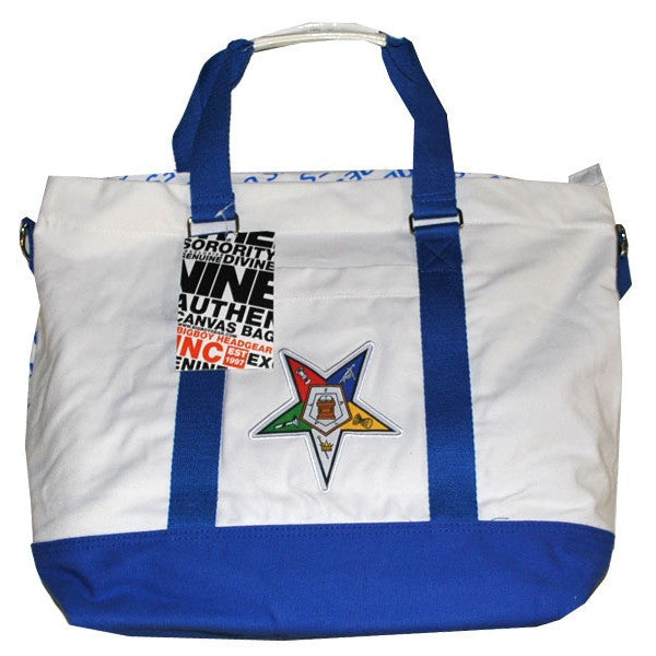 Order of the Eastern Star Canvas Hand Bag (Front)