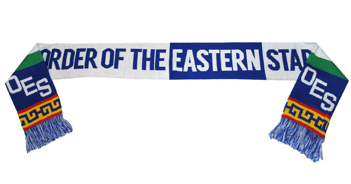 Order of the Eastern Star Heavyweight Scarf by Big Boy Headgear