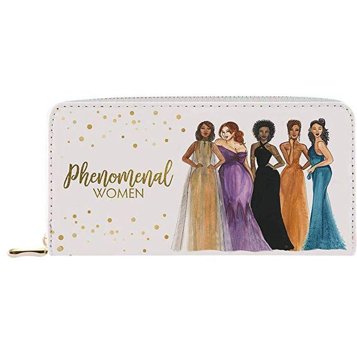 Phenomenal Women: African American Women's Wallet/Clutch by Sarah Myles