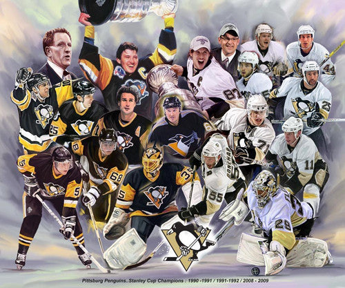Pittsburgh Penguins by Wishum Gregory