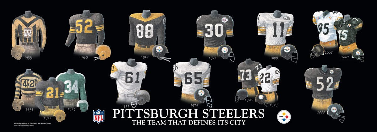 Pittsburgh Steelers: The Team That Defines Its City by Nola McConnan and Tino Paolini