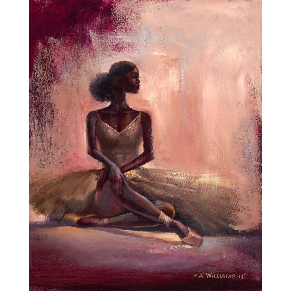 "Poised: The Ballerina by Kevin ""WAK"" Williams"