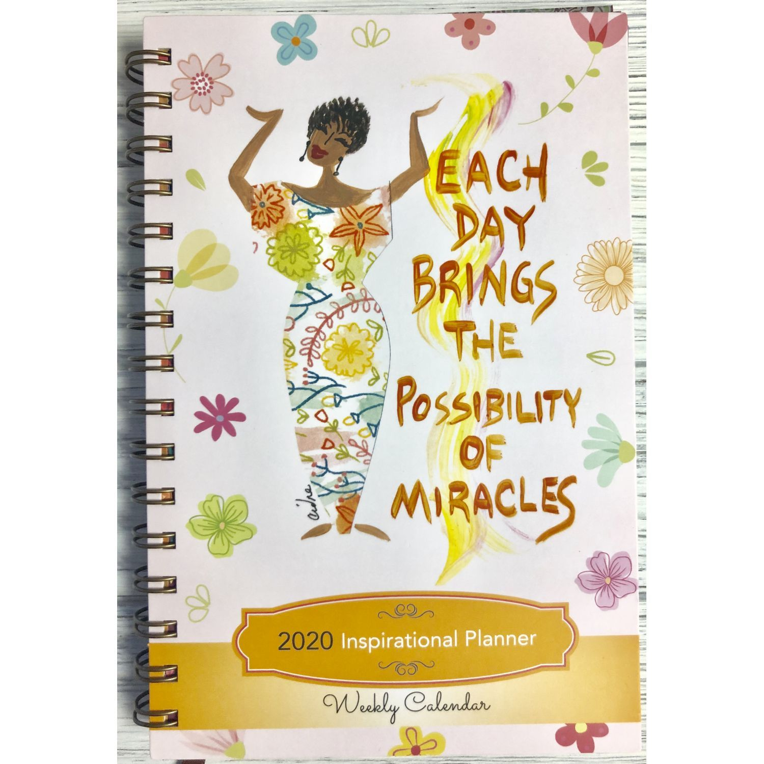 The Possibilities of Miracles: 2020 African American Weekly Planner
