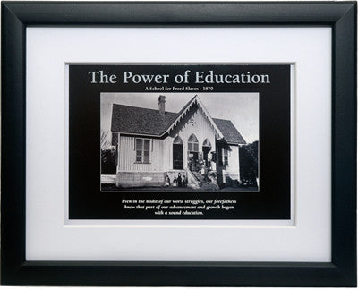The Power of Education by D'azi Productions (Framed)