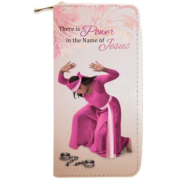 Power in the Name of Jesus: African American Women's Wallet/Clutch