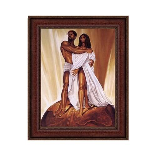 "Power of Love by Kevin ""WAK"" Williams (Brown Frame)"