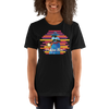 Praise Him by D.D. Ike: African American Religious Short Sleeve T-Shirt (Black)