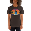 Praise Him by D.D. Ike: African American Religious Short Sleeve T-Shirt (Brown)