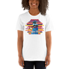 Praise Him by D.D. Ike: African American Religious Short Sleeve T-Shirt (White)
