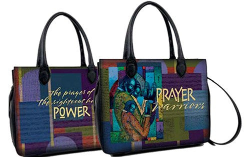 "Prayer Warrior Bible Bag by Larry ""Poncho"" Brown"