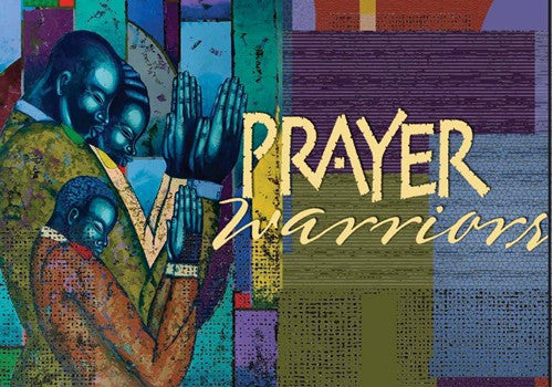 "Prayer Warriors Magnet by Larry ""Poncho"" Brown"