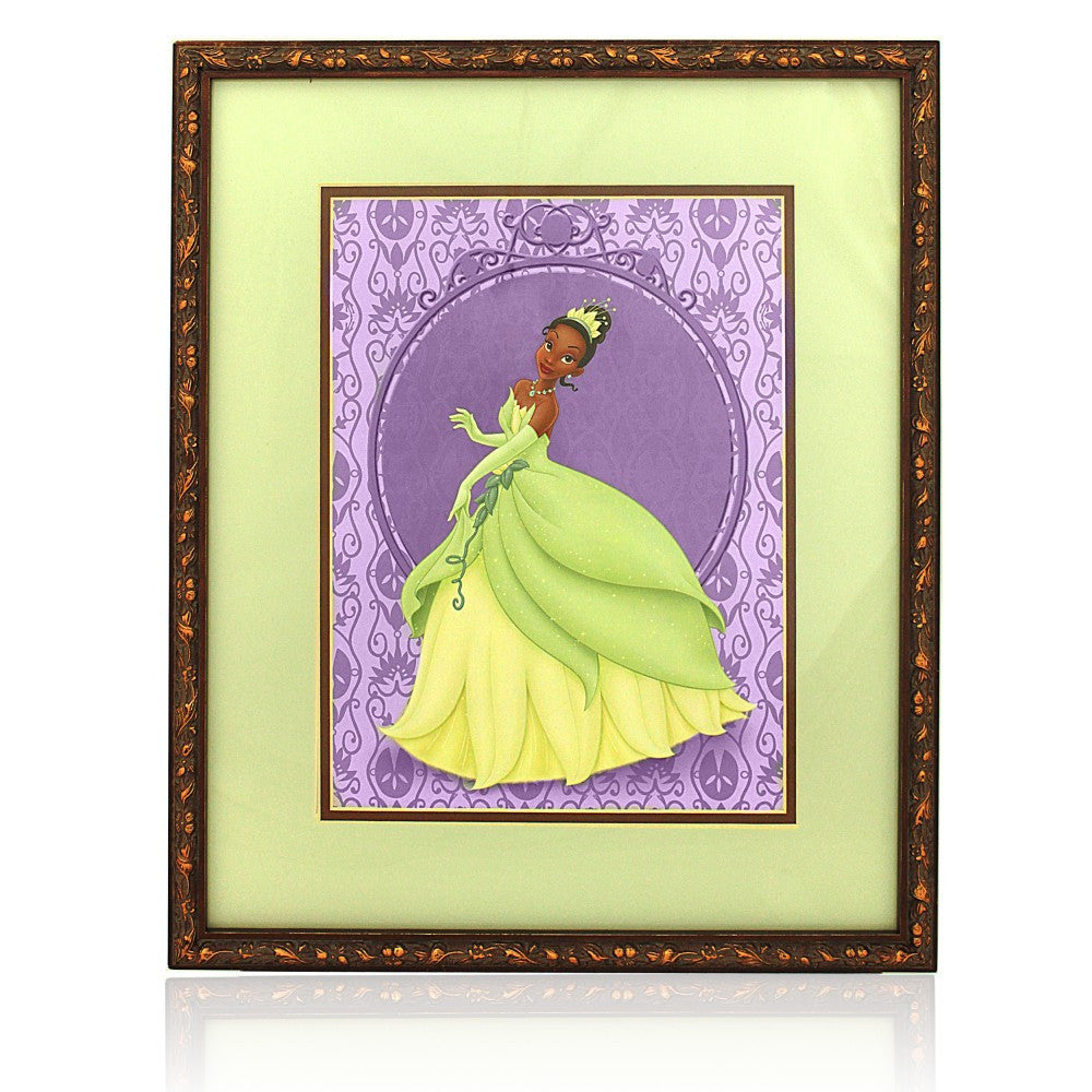 Princess Tiana: Walt Disney Princess (Framed)
