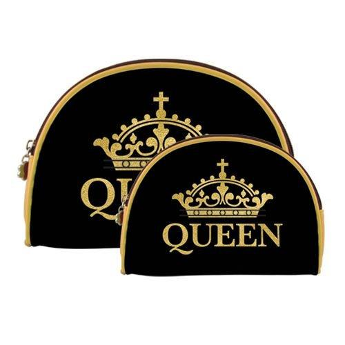 Queen: African American Cosmetic Duo Bag by AAE