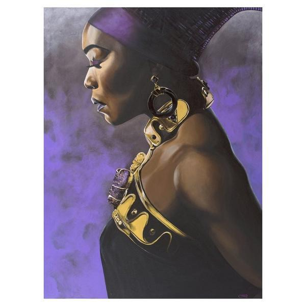 "All Hail the Queen (Queen Ramonda aka Queen Mother) by Cecil ""CREED"" Reed Jr."