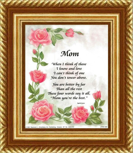 Mom, You're The Best by Rachel Green and S.Lynne