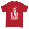 I Am Black Excellence Men's Short Sleeved T-Shirt (Red)