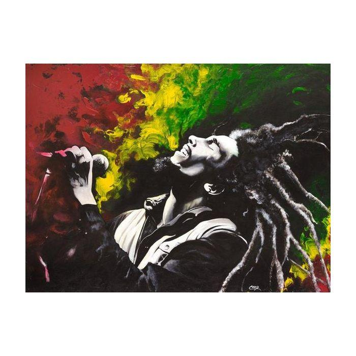 "Bob Marley by Cecil ""CREED"" Reed Jr."