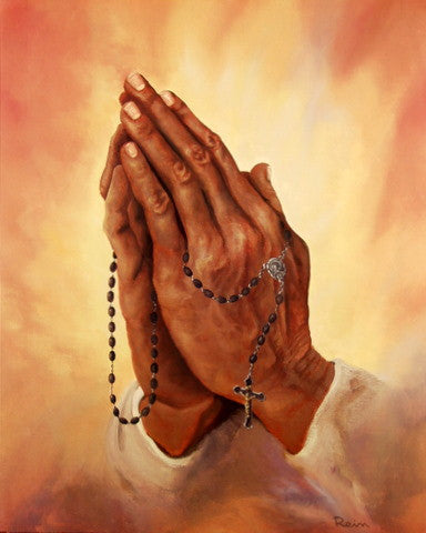 Praying Hands by Rein