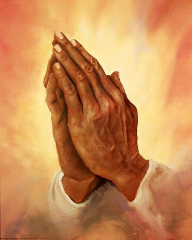 Praying Hands II by Rein | The Black Art Depot