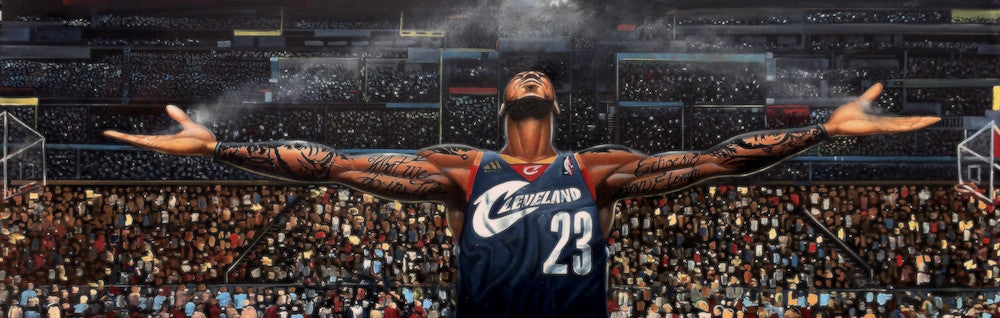 Return of the King (Lebron James) by Frank Morrison