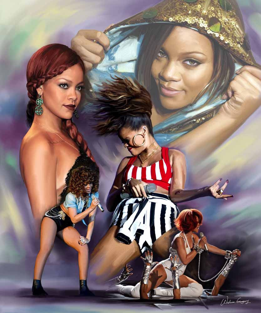 Rihanna: RiRi, The New Princess of Pop by Wishum Gregory