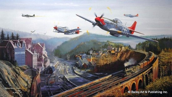 Red Tail Pass by Robert Bailey