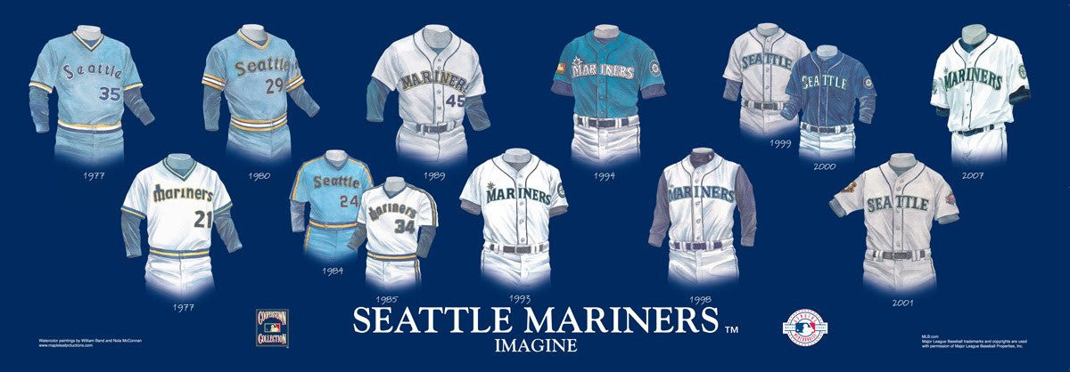 Seattle Mariners: Imagine by Nola McConnan and William Band