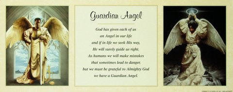 "Guardian Angel by Edward ""Clay"" Wright and Shahidah"