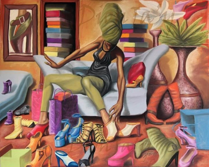 Shoe Addict by Dion J. Pollard