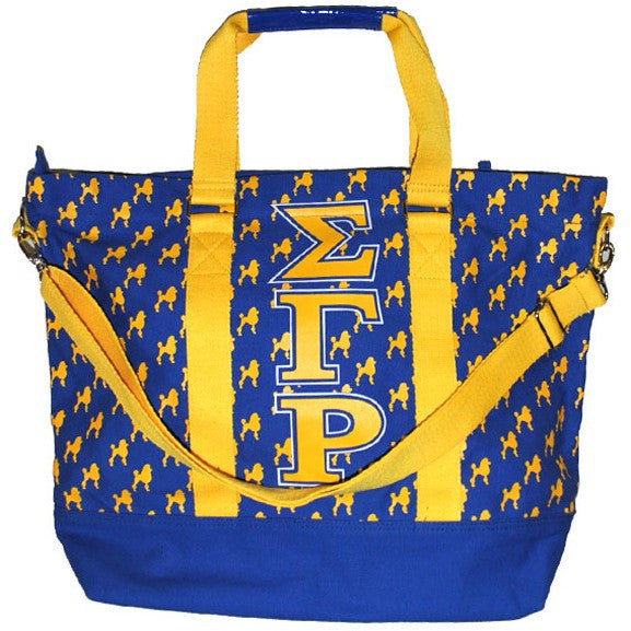Sigma Gamma Rho Canvas Hand Bag (Back)
