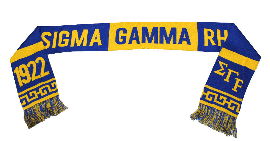 Sigma Gamma Rho Heavyweight Scarf by Big Boy Headgear