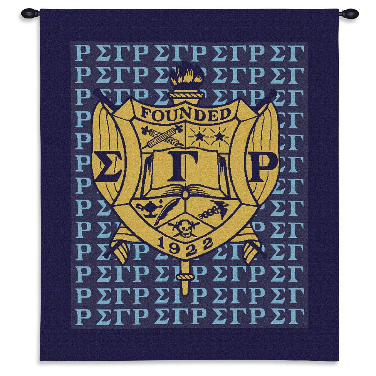 Sigma Gamma Rho Wall Tapestry by Pure Country Weavers