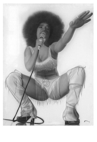 Soul Sisters II: The Singer by Steven Reed (Art Print)