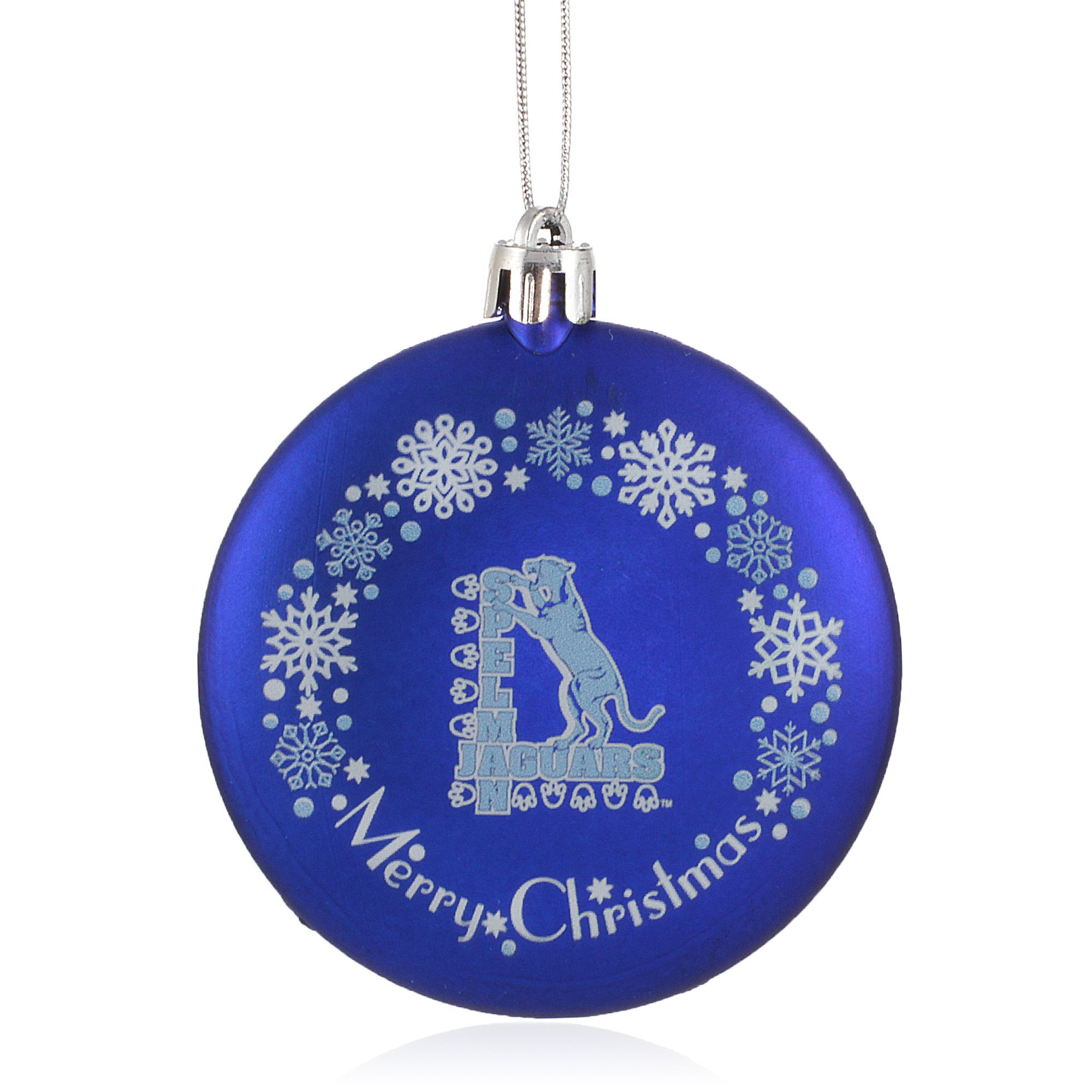 Spelman College Jaguars Christmas Ornament