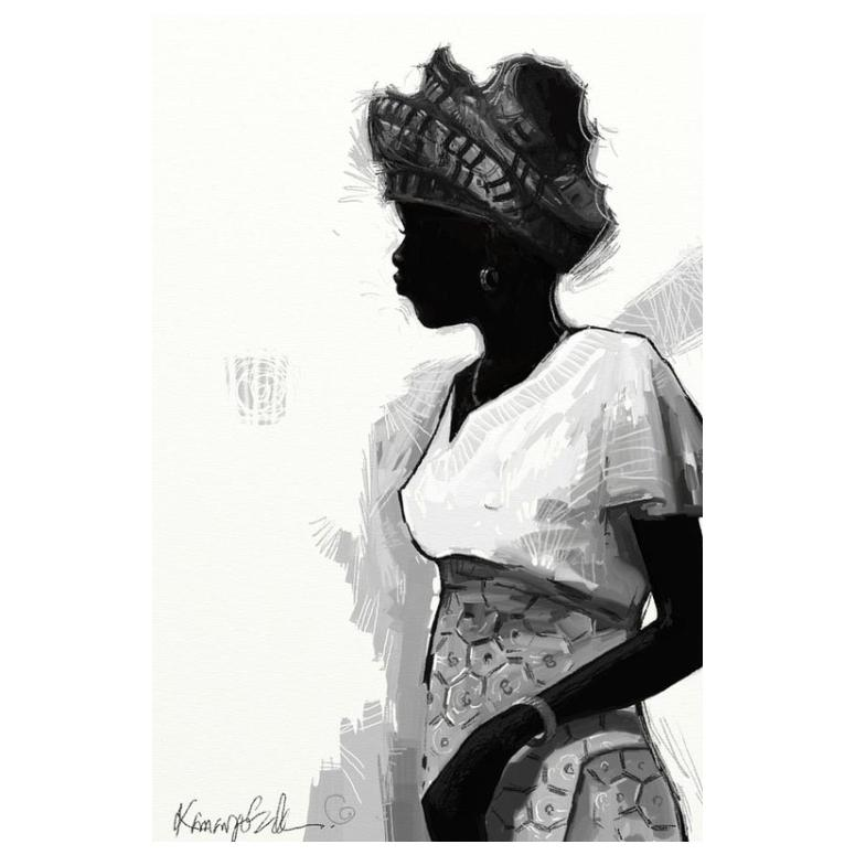 Nigerian Lady: Girl on the Move by Kanayo Ede (Paper)
