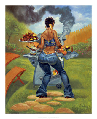 BBQ by Sterling Brown