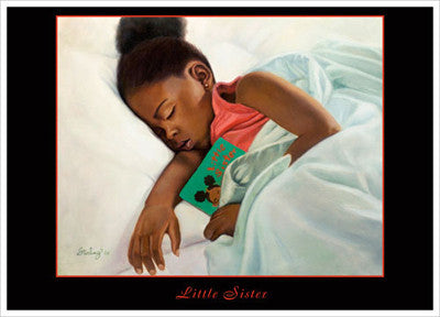 Little Sister Magnet by Sterling Brown