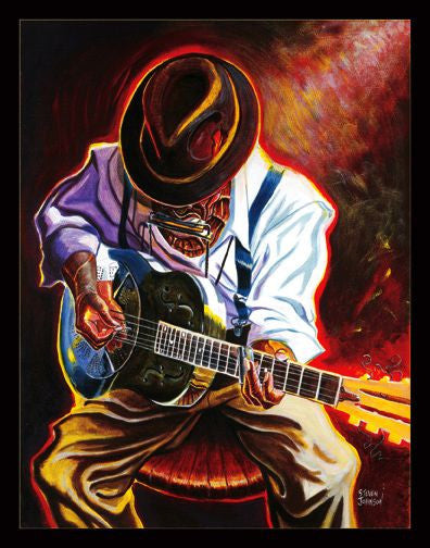 Strummin' Blues by Steven Johnson