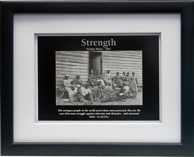 Strength by D'azi Productions (Framed)