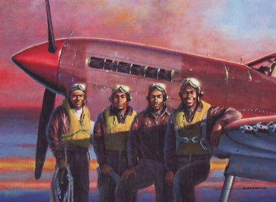 Pilots of the 99th by Stan Stokes