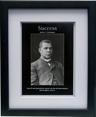 Success: Booker T. Washington by D'azi Productions (Framed)