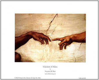 Creation Of Adam by Suzanne Hart